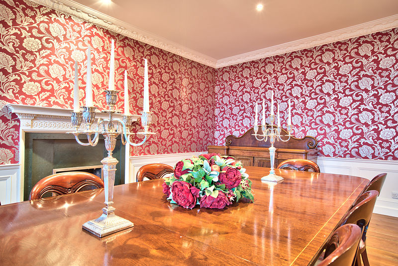 Dining Table Embo House Self Catering