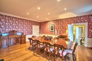 Dining room at Embo House