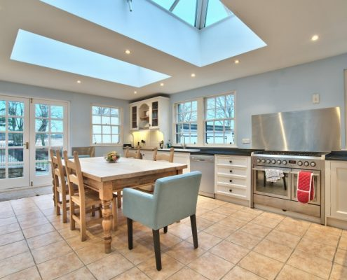 Kitchen ideal for self catering