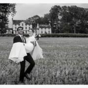 Dornoch Weddings bride and groom Embo house
